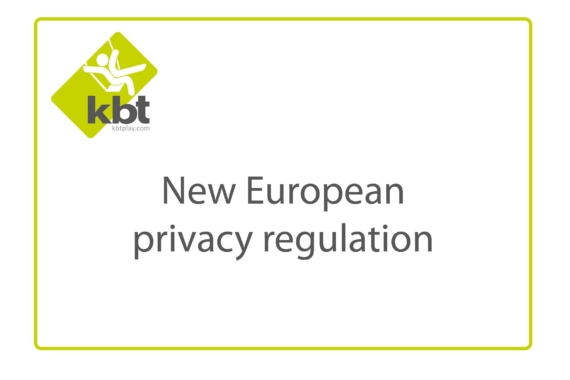 New European privacy regulation (GDPR)