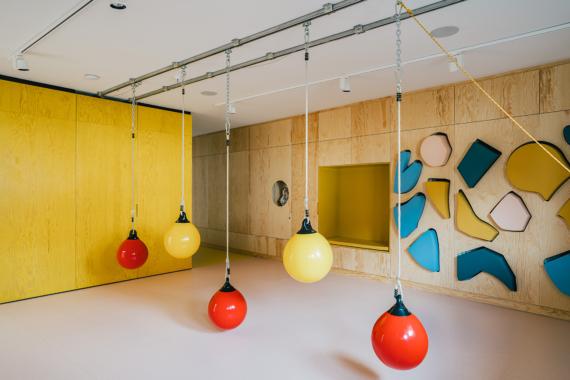 KBT Buoy-ball in an Award winning design.