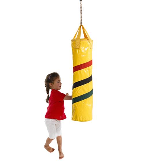 620,girl punching KBT boxing bag,